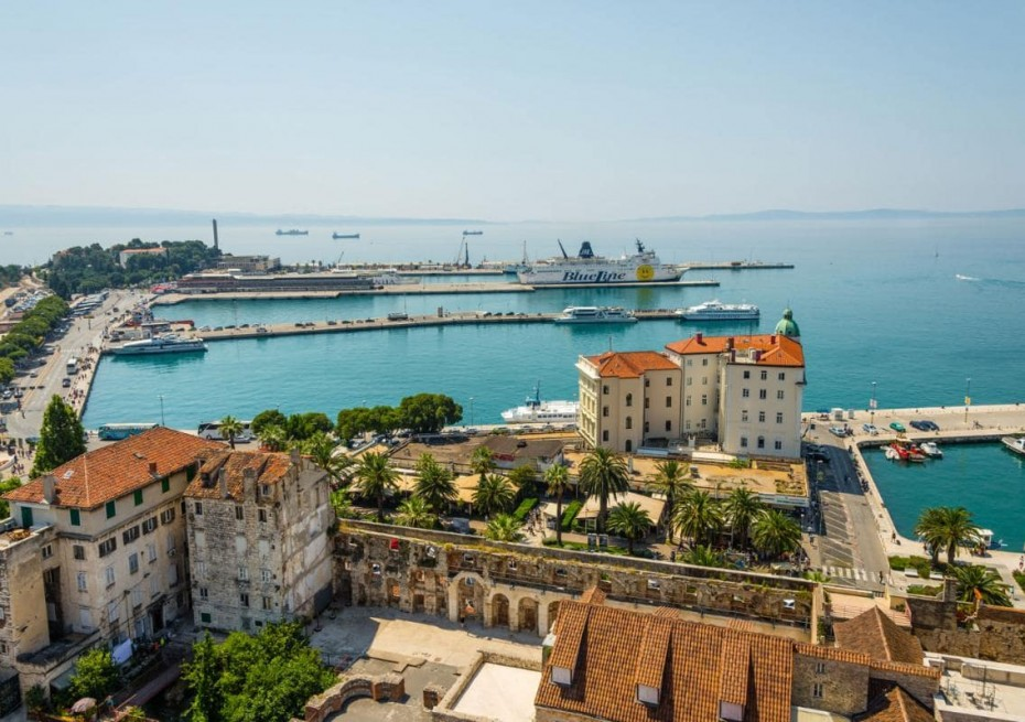 Port of Split - Yacht Charter Sailica
