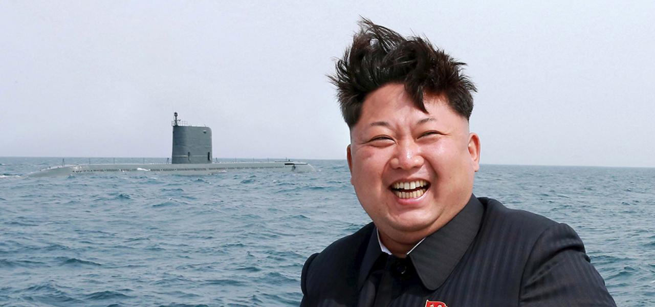 Sailing in North Korea!