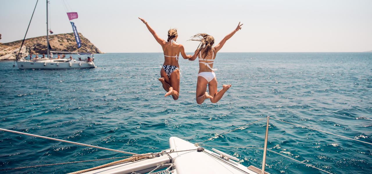 Круиз на яхте: ожидание vs реальность