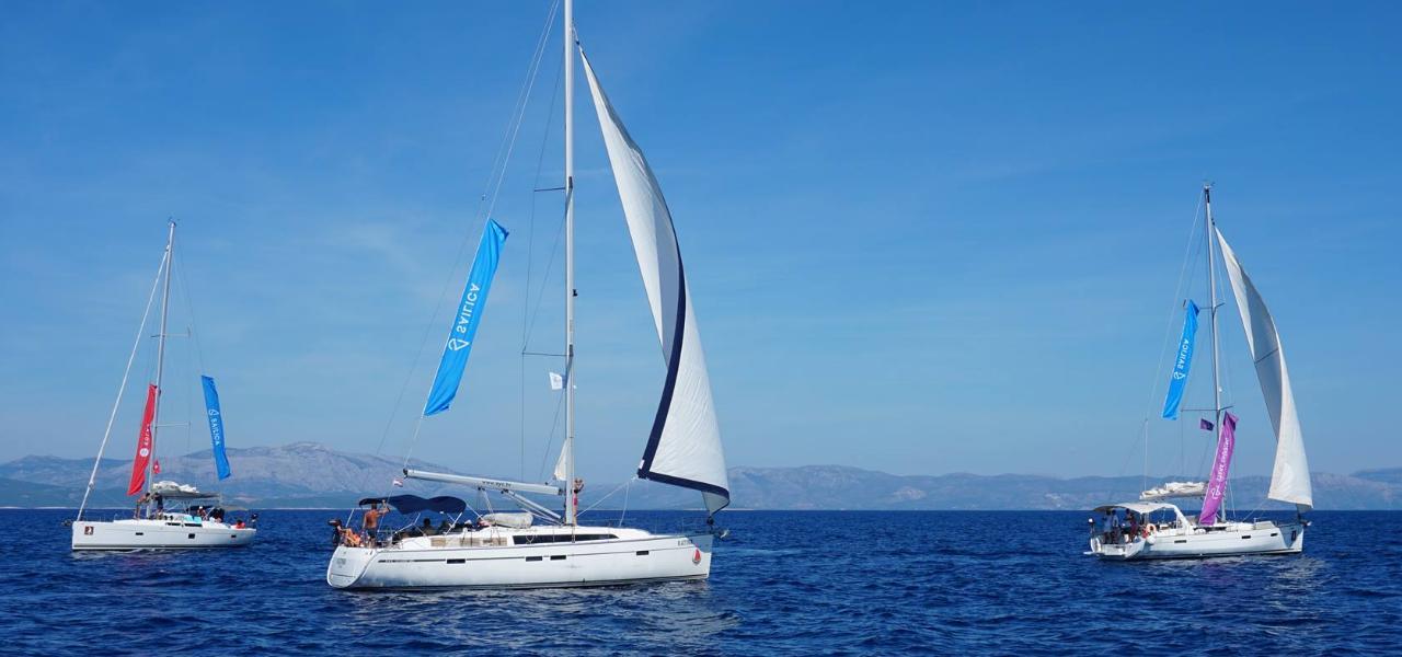 Яхтинг в Хорватии удался. Бортовой дневник Sailica о 7 днях невероятных впечатлений, ночных купаний и вечеринок
