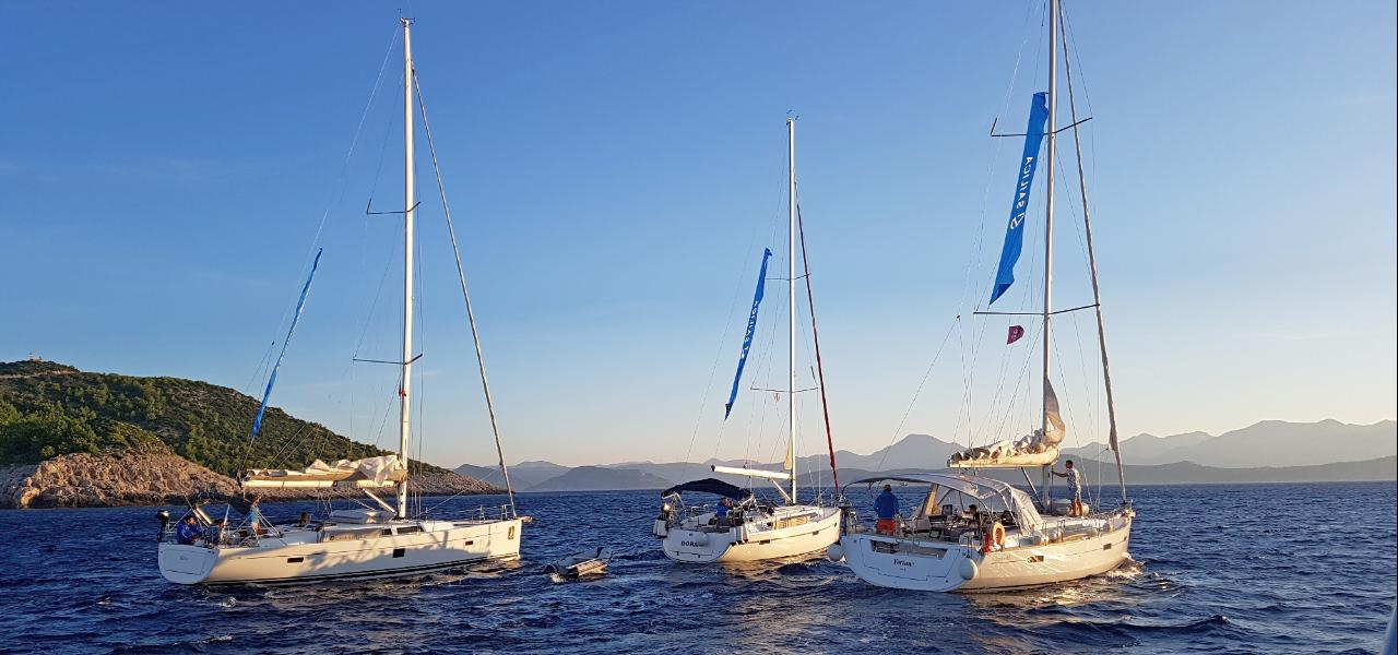 Яхтенные маршруты Хорватии: куда удобнее всего проложить путешествие на яхте или катамаране