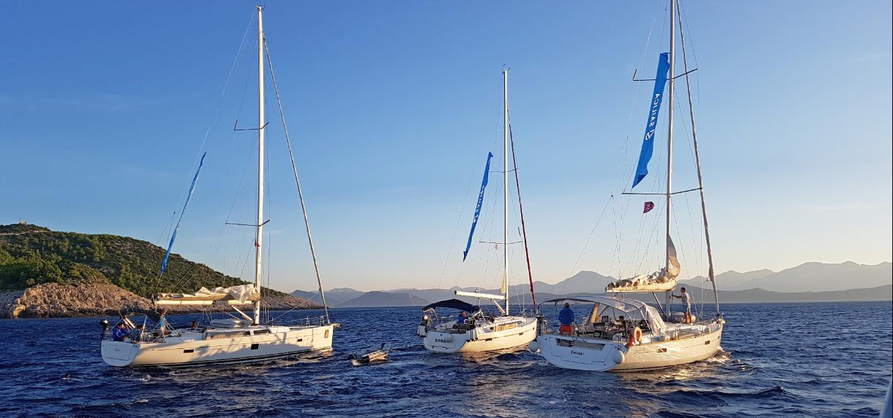 Croatian yachting routes