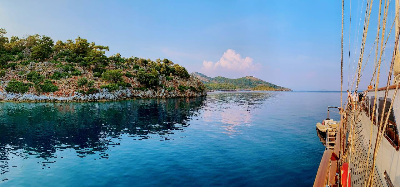 Top Turkish places for yacht sailing