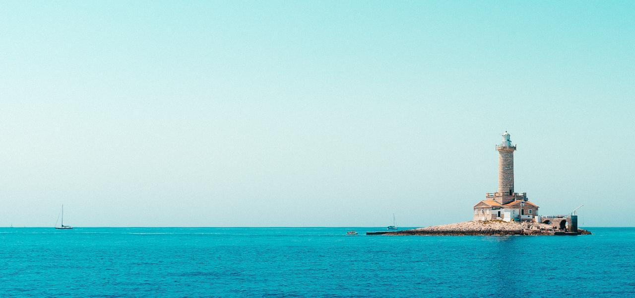 Main Croatian destinations for yacht holidays