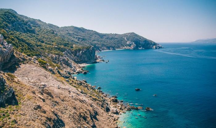 Пляж Греции — Кукунариес. Отдых на яхте в Греции